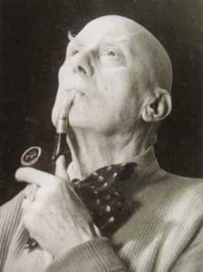 old aleister crowley, simon iff
