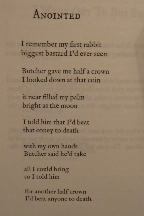 anointed, john c nash, poem