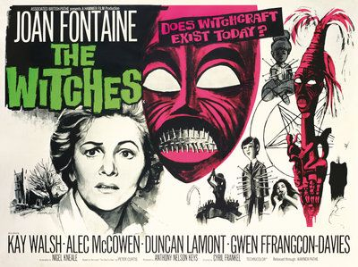 THE WITCHES, HAMMER,1966, POSTER
