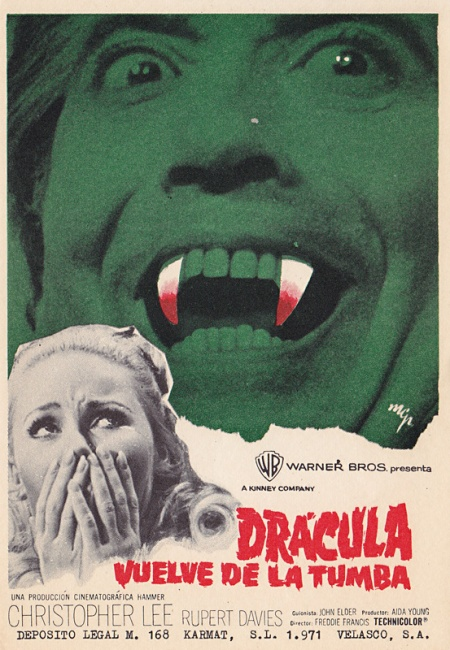 dracula has risen from the grave - when churchyards yawn