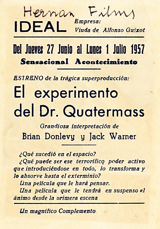 quatermass experiment back - when churchyards yawn