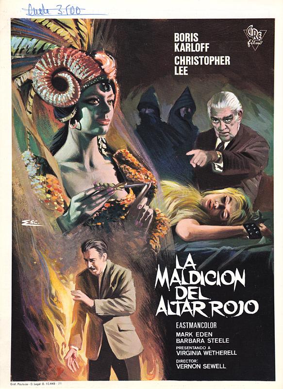 curse of the crimson altar - spanish pressbook - whenchurchyardsyawn