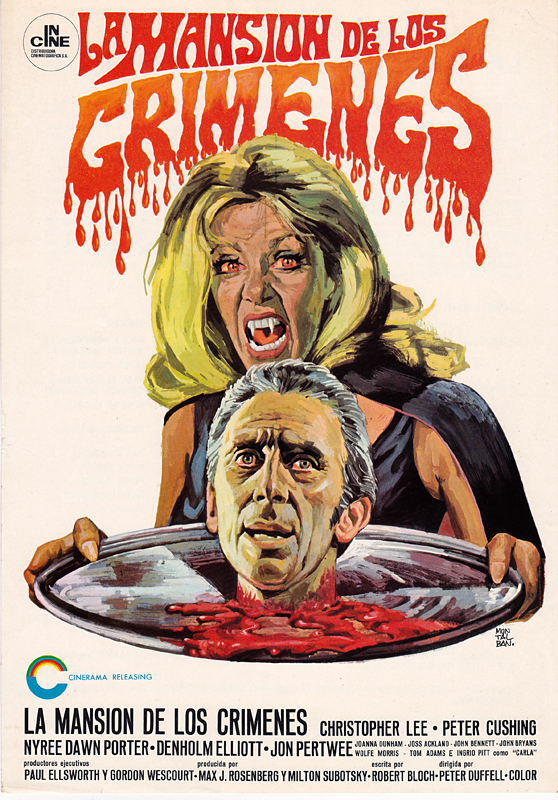 the house that dripped blood - spanish pressbook - whenchurchyardsyawn
