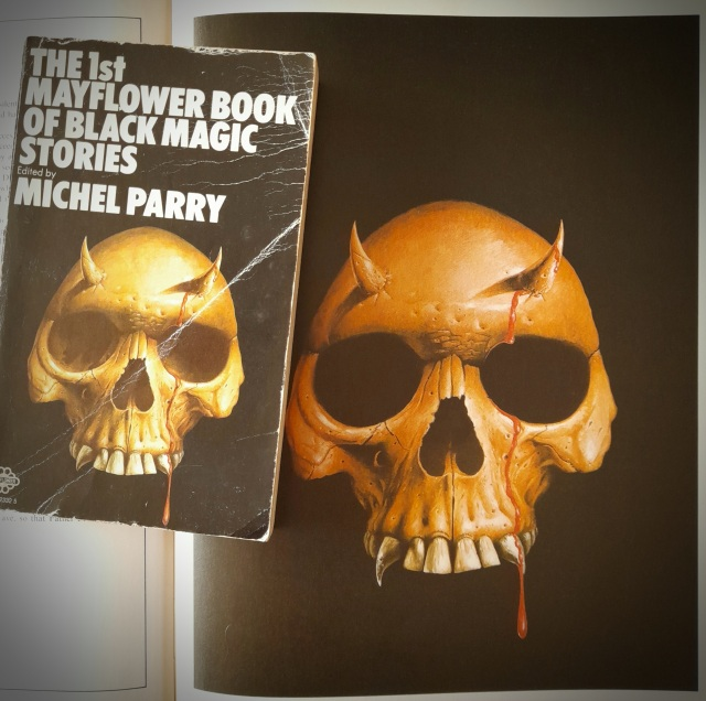 echoes of terror - les edwards - the 1st mayflower book of black magic stories - michel parry